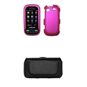 Samsung Messager Touch R630 Premium Hot Pink Rubberized
