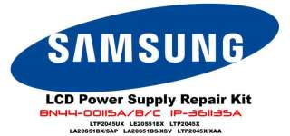 SAMSUNG LCD Power Repair Kit BN44 00115A /B IP 361135A