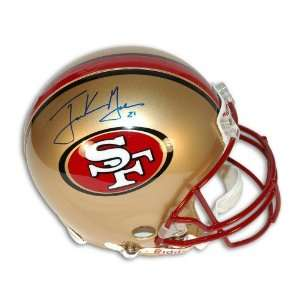 Frank Gore Autographed/Hand Signed San Francisco 49ers Full