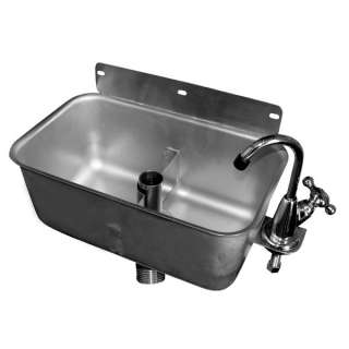 Dipperwell Sink, Wall Mount Stainless Steel NSF