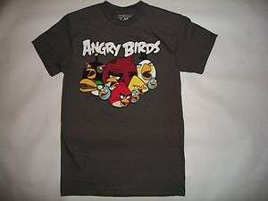 ANGRY BIRDS, VINTAGE RETRO T SHIRT IN MENS SIZES S,M,L,XL,XXL, NEW