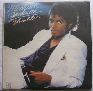 Michael Jackson Thriller Vinyl Record   1982 Rare