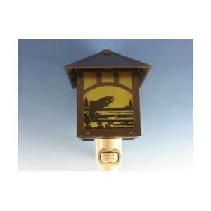 Craftsman Trout Night Light by Rivers Edge Products