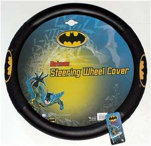 BATMAN Dark Knight DC Comics CAR STEERING WHEEL COVER