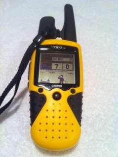 GARMIN RINO 110 HANDHELD WATERPROOF FRS/GMRS RADIO & GPS NAVIGATOR