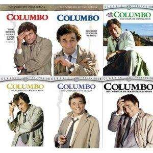 This is Columbo the Complete TV Series DVD set, seasons 1 7. DVD sets