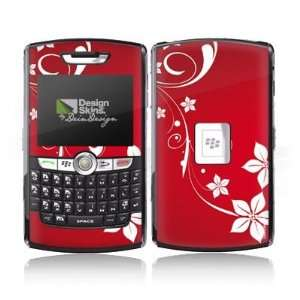 Design Skins for Blackberry 8800   Christmas Heart Design