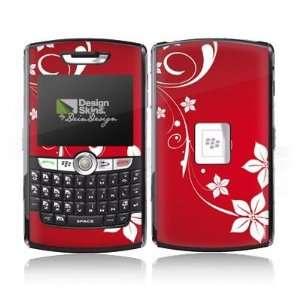 Design Skins for Blackberry 8800   Christmas Heart Design