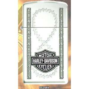 Barbed Wire Slim Harley Davidson Zippo Lighter