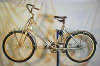 1937 Monark Battery Co Silver King Ladies Bicycle Bike Aluminum