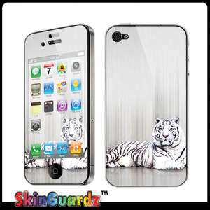 Tiger Vinyl Case Decal Skin Cover Apple iPhone 4 / 4s / Verizon / AT&T