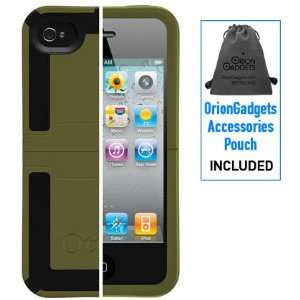 OtterBox Reflex Case (Green / Black) for Apple iPhone 4