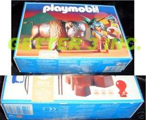 Playmobil 3874 Western Indian Wolf Clan Hunters MIB NEW