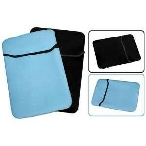 13 inch Blue / Black Reversible Neoprene Notebook Laptop