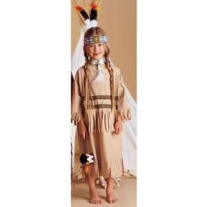 Native Princess Child Costume   Small (4 6) Toys & Games