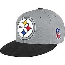 Mitchell & Ness Pittsburgh Steelers Throwback XL Logo Fitted Hat