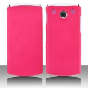 Premium   LG GD570/dLite Rubber feel Hot Pink Cover   Faceplate   Case