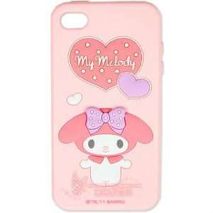 Hello Kitty Silicon Case Cover for Apple Iphone 4 4gs Pink My Melody