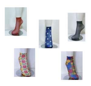 2011 New womens summer sheer nylon socks 5pairs Set