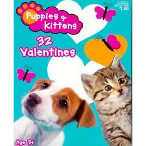 Puppies & Kittens Valentine Cards for Kids (84107050