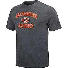 NFL San Francisco 49ers Big & Tall Heart & Soul T Shirt