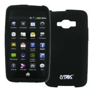 EMPIRE Black Silicone Skin Case Cover for Samsung Rugby