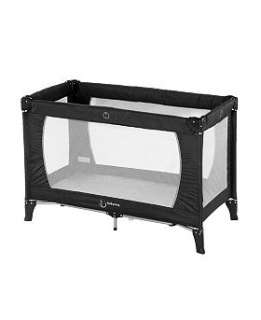 Babyway travel cot black and silver   Boots