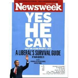 Barack Obama on Cover, A Liberals Survival Guide, Robert Crumbs Book