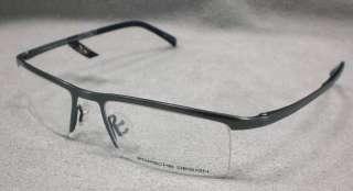 Original PORSCHE DESIGN Brille P8129 col D silber TITAN