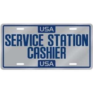 New  Usa Service Station Cashier  License Plate