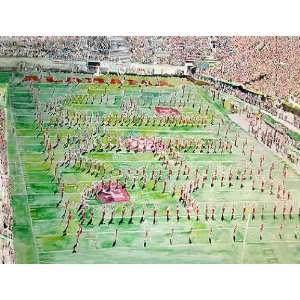Alabama Painting   Alabama Million Dollar Marching Band