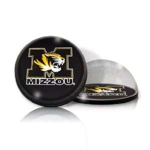 NCAA Missouri Tigers Mizzou Logo Round Crystal Magnetized