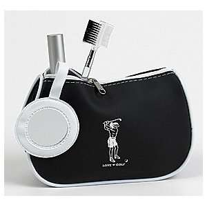 Lady Golfers Cosmetic Bag with Mirror Beauty