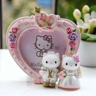 Hello Kitty Heart Plaster Photo Frame Picture Display 2