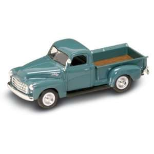 1950 GMC Pickup Truck 143 scale Dark Green Toys & Games