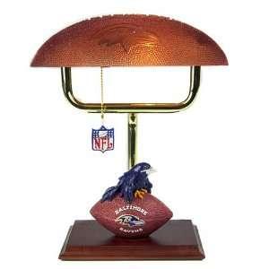 Baltimore Ravens NFL Football Desk Lamp