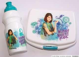 Zauberer vom Waverly Place Brotdose und Trinkflasche Lunchset Selena