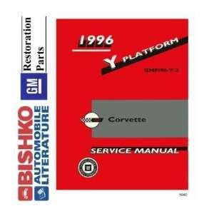 1996 CHEVROLET CORVETTE Shop Service Repair Manual CD Automotive