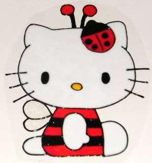 WINDOW COLOR Fensterbild Hello Kitty Käfer Haftfolie