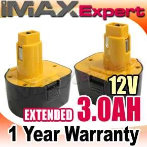 0AH 12V Ni Mh Power Tool Battery for DEWALT DC9071 DE9071 DW9071