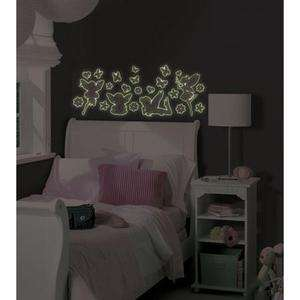 BiG Wall Stickers Glow in the Dark FAIRIES Decor Butterfly Decals BR4