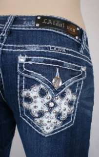 La Idol Jeans Crystal Cross Plus Size Bootcut. 17 19 21