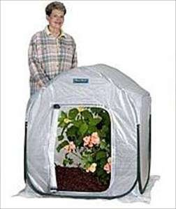 MINI GREENHOUSE   SMALL PORTABLE GREEN HOUSE KIT   3x4x3.5  GROW