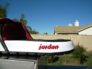 JORDAN HYDRO 2 PREMIUM 10 RETRO SZ 13 X II CHICAGO WHITE BLACK RED