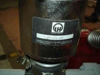 LEYBOLD TRIVAC WSU251 D90AC D60AC VACUUM PUMP SYSTEM
