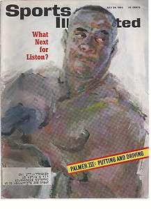 Sports Illustrated 1963 Sonny Liston Boxing Palmer