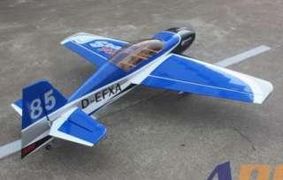 ARF Sbach 342 30CC 73/1860mm Nitro Gas RC Airplane Blue B