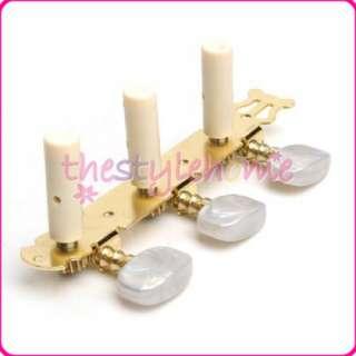 Set Gold Guitar Tuning Pegs Keys Tuner Machine Heads