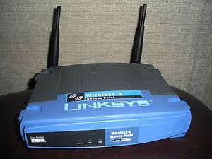 CISCO LINKSYS WAP 11 WIRELESS B NETWORK ACCESS POINT  NICE