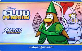 CLUB PENGUIN Card COLLECTIBLE NO VALUE